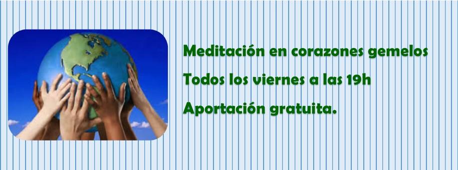 Taller Meditación en Corazones Gemelos