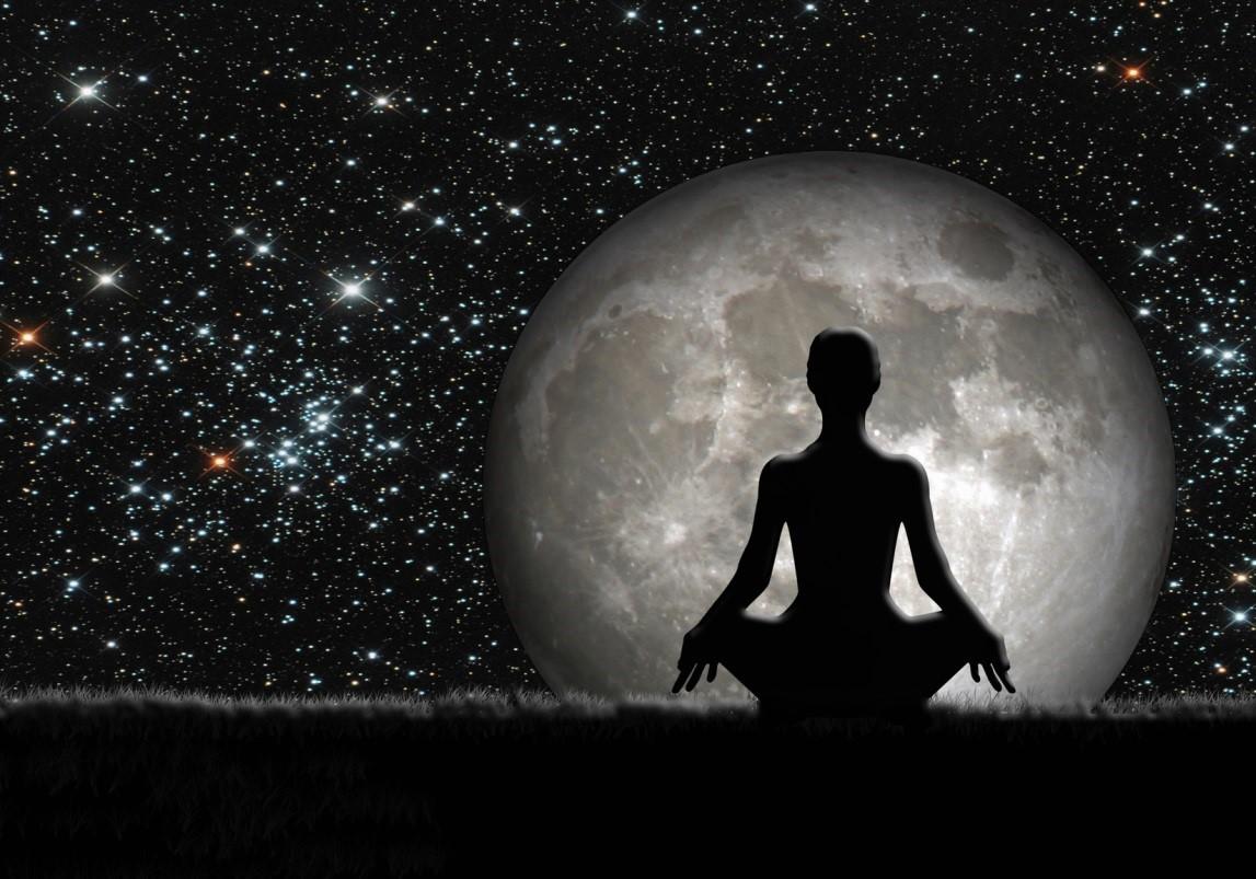meditación luna llena