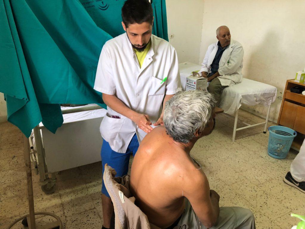acupuntura en Sáhara liberado