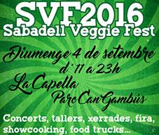 Sabadell Veggie Fest 2016