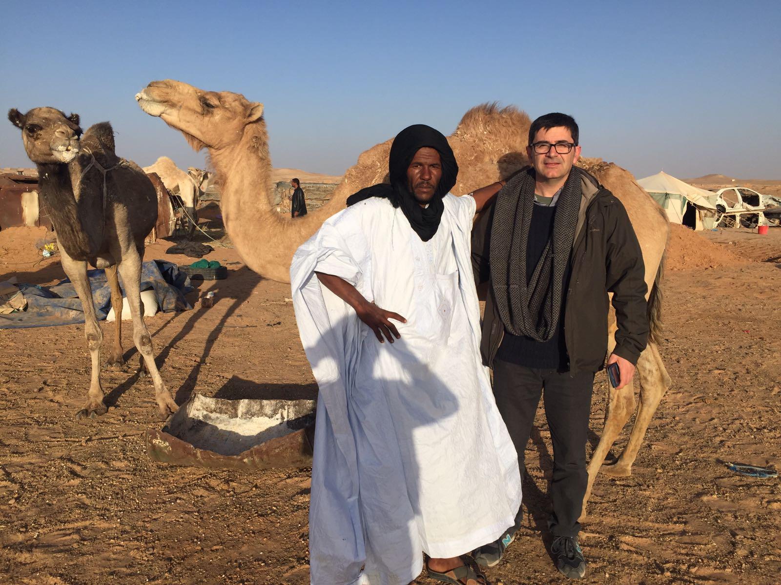 Proyecto una aguja un suspiro, Campo de Refugiados Saharauis