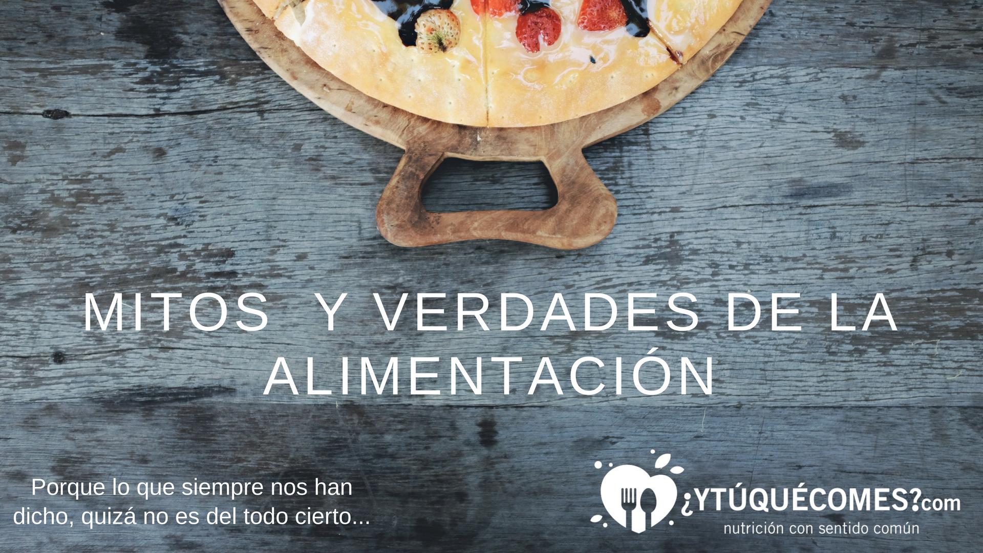 charla gratuita mitos y verdades de la alimentación