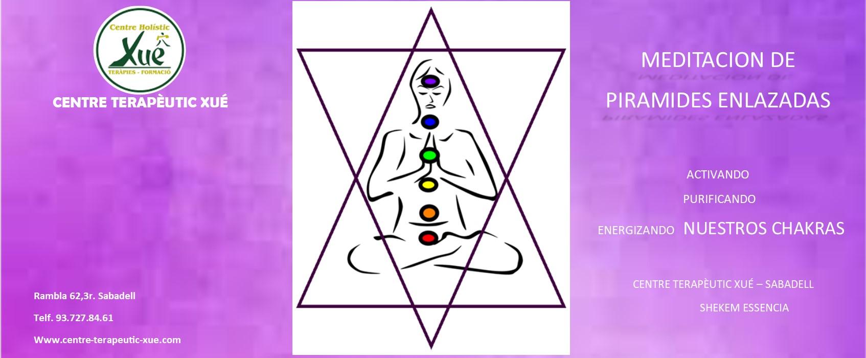 meditación piramides